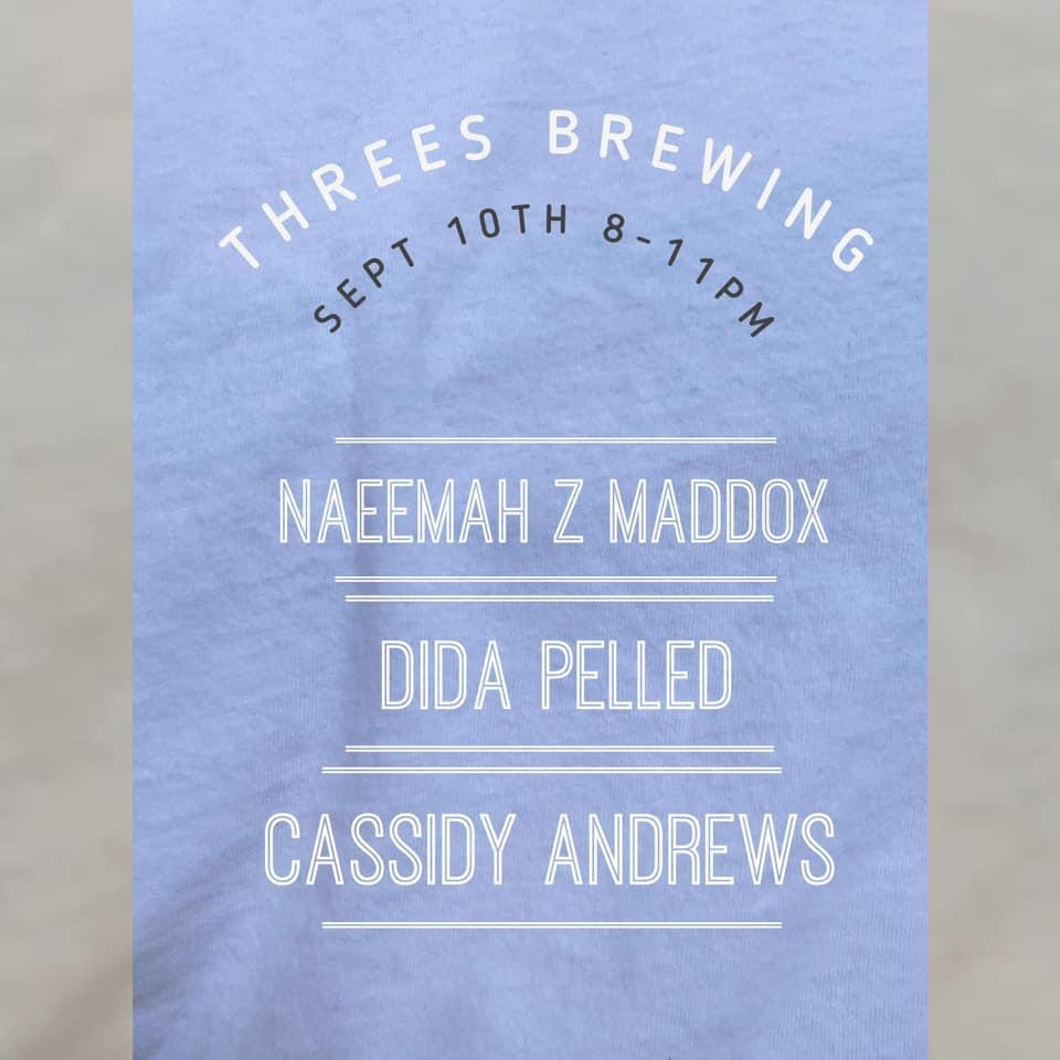 threes brewing flyer
